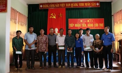 Phúc Sơn Group ủng hộ đồng bào miền Trung